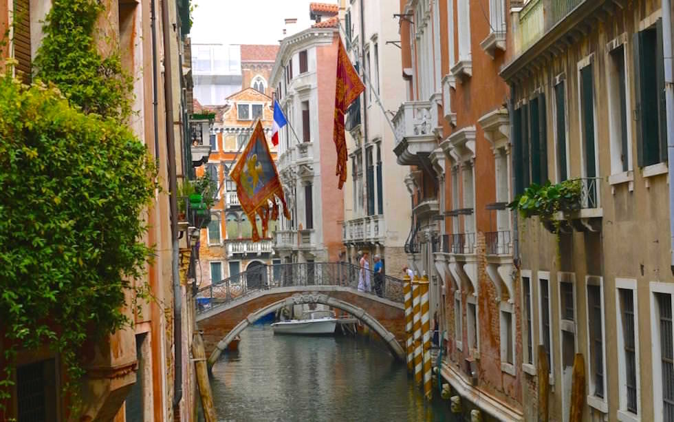 Bridges and Canals in Venice Italy