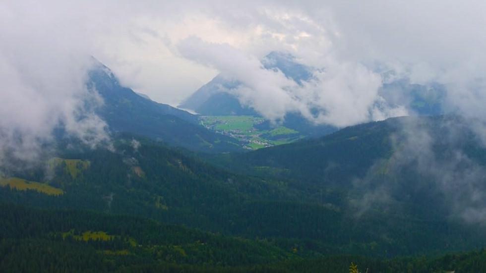 Schildenstein - Blick vom Gipfel - Wunderschöne Blauberge Wanderung beim Tegernsee in Bayern