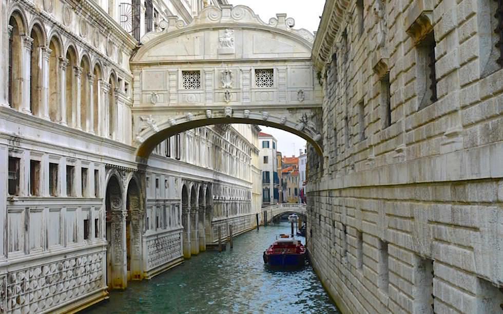 Seufzerbrücker - bridge of sighs - Venice Venedig Italien