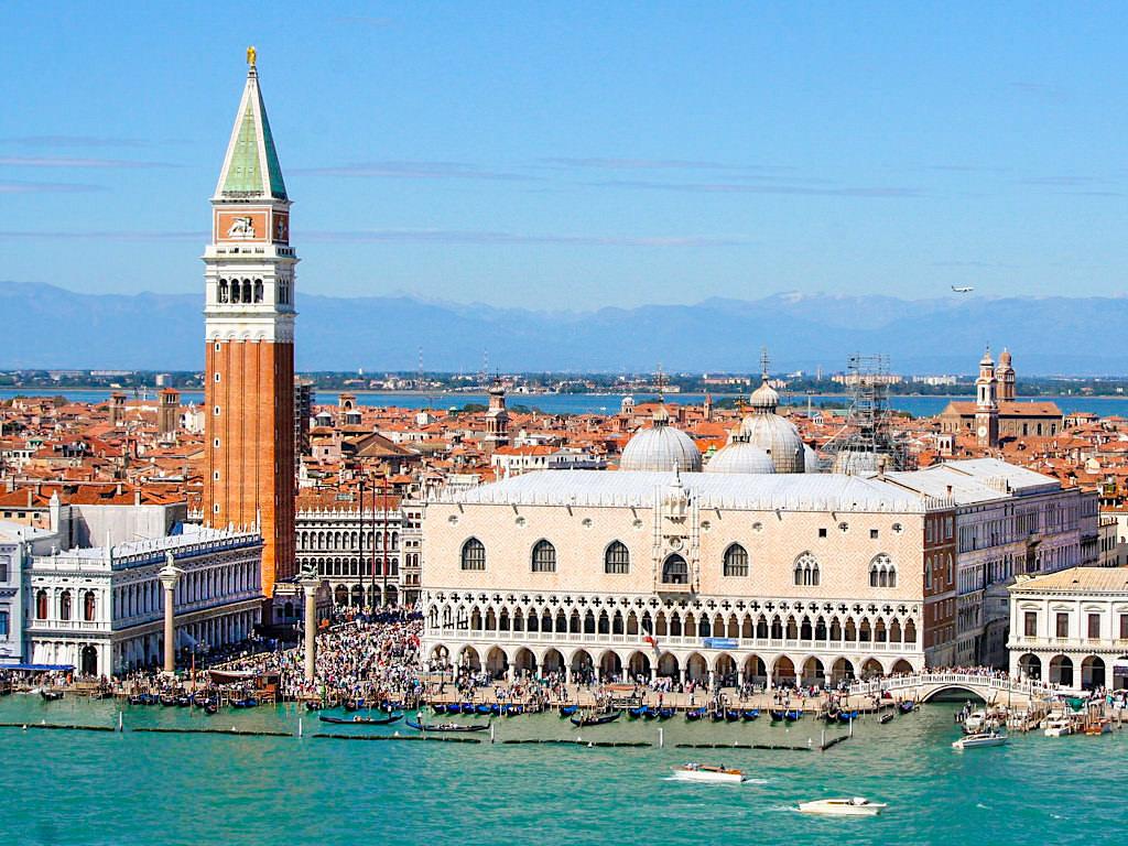 Grandioser Ausblick über Venedig & Piazza San Marco - Venedig Sehenswürdigkeiten, Highlights und Insidertipps - Italien