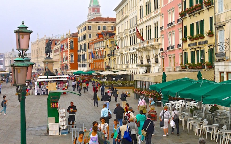 Venice waterfront near Piazza San Marco