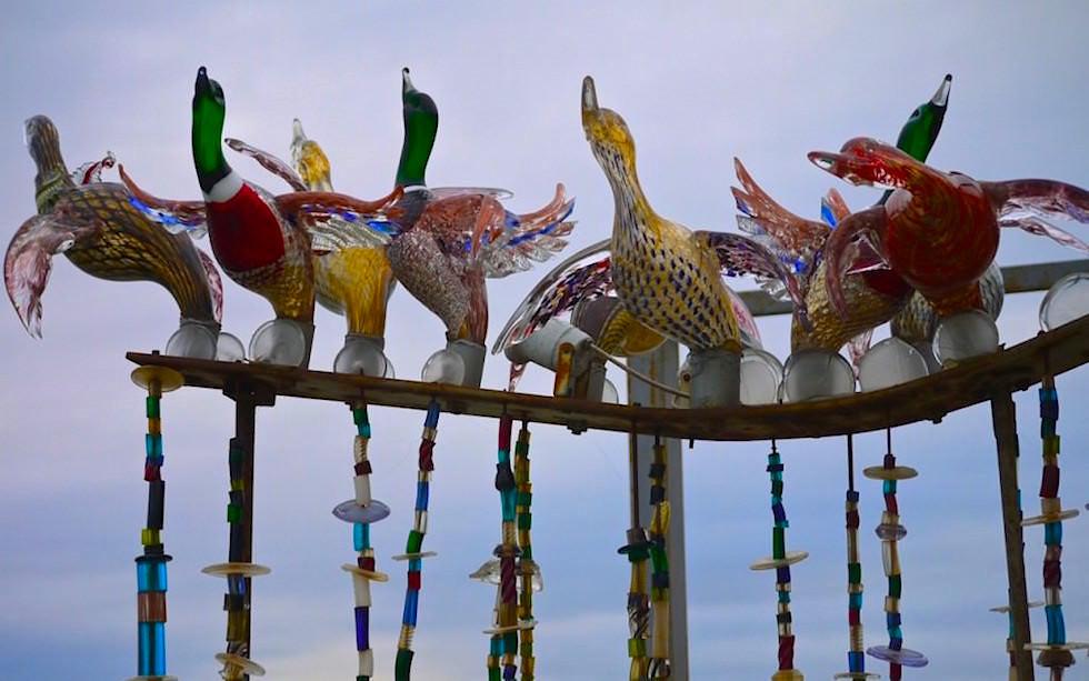Glaskunst in Murano Venedig Italien
