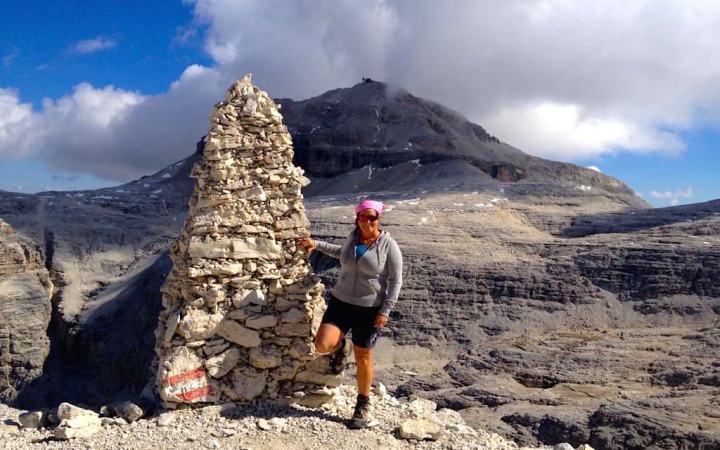 Atemberaubend schöne Piz Boè Bergtour - Dolomitenwanderung - Sella Gruppe - Südtirol Italien