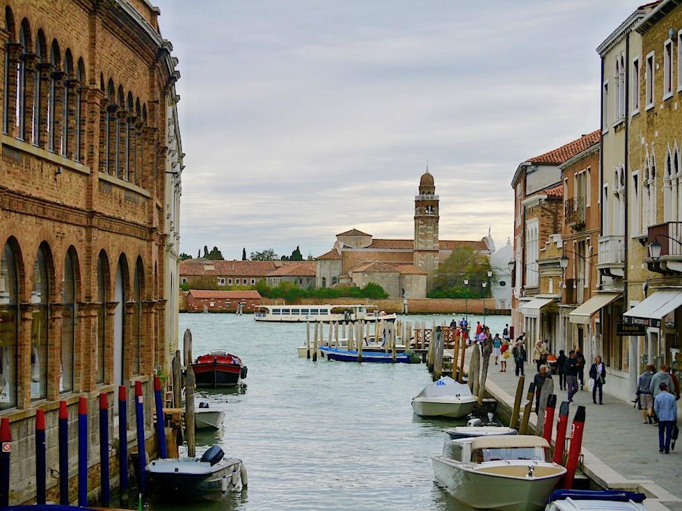 Murano - Stadt-Bummel auf der Insel der Glasbläser - Lagune von Venedig - Italien