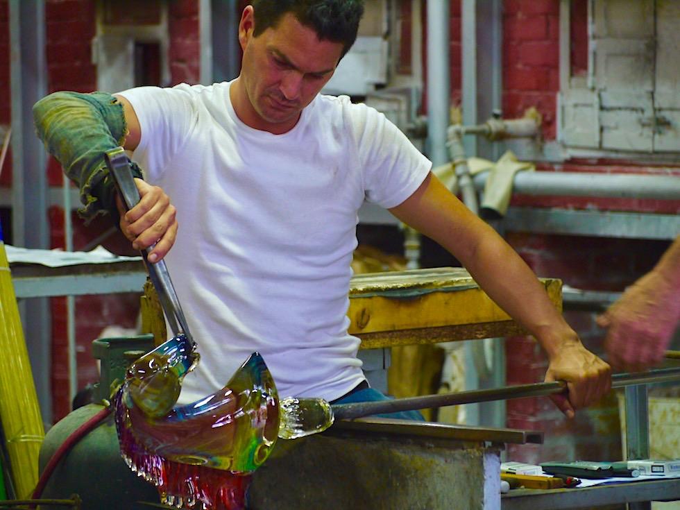 Murano Glasbläser Insel & Glasherstellung, das bestgehütetes Geheimnis im alten Venedig - Lagune von Venedig - Italien