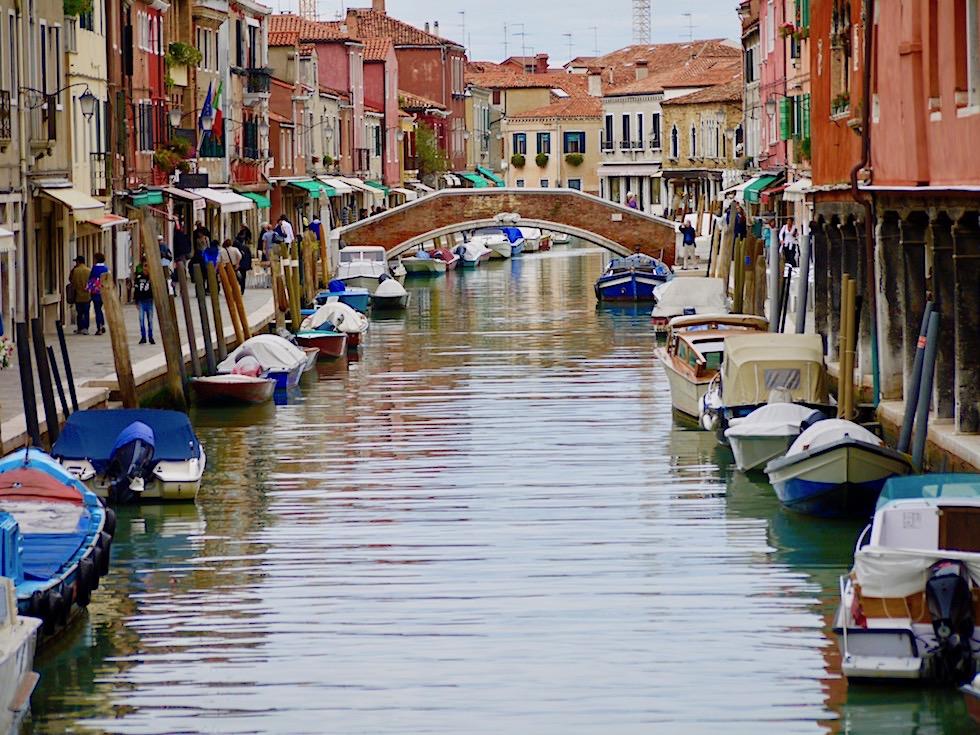 Murano - 7 Inseln, 8 Kanäle, 11 Brücken - Lagune von Venedig - Italien