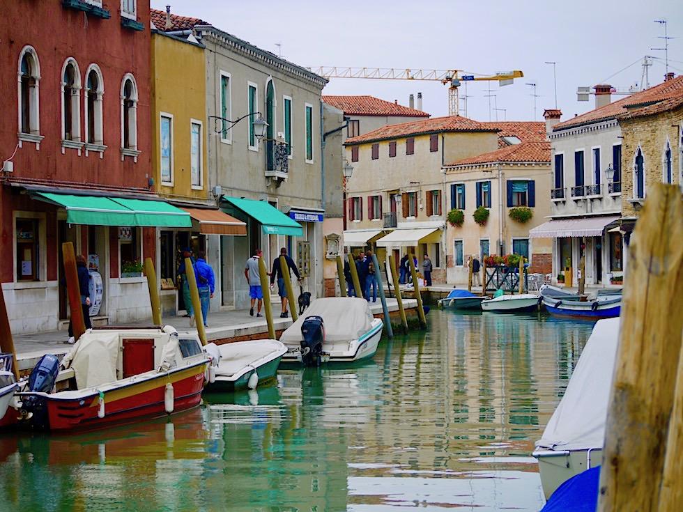 Murano - Kanäle, Boote & bunte Fasaden - Lagune von Venedig - Italien