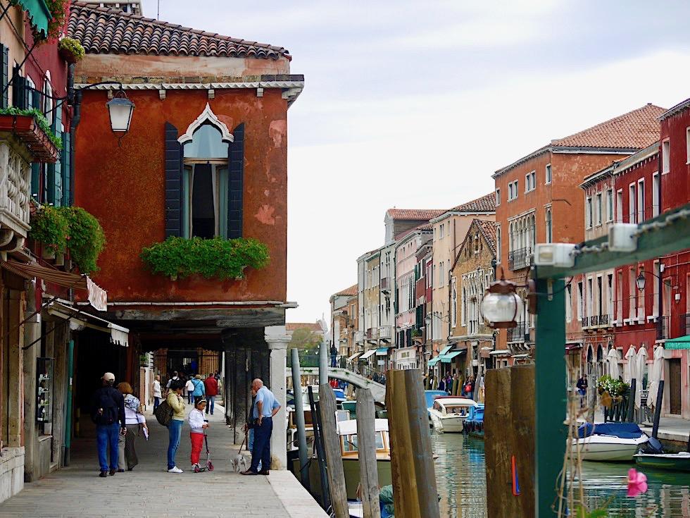 Murano: die Glasbläser-Stadt & ihre Geheimnisse - Morbider Charme, der begeistert - Lagune von Venedig - Italien
