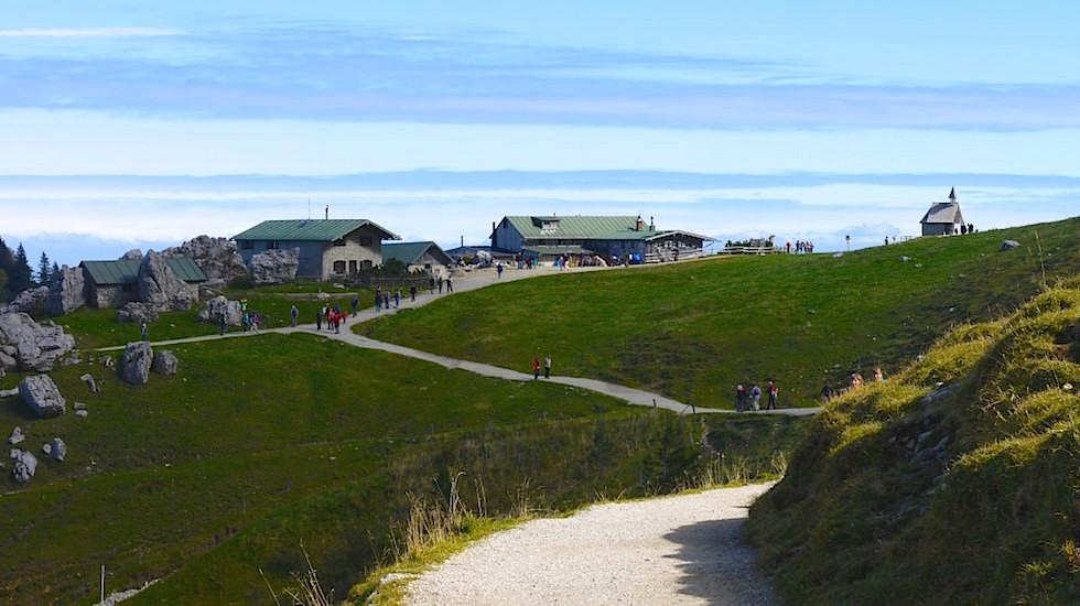 Panoramaweg Kampenwand Chiemsee