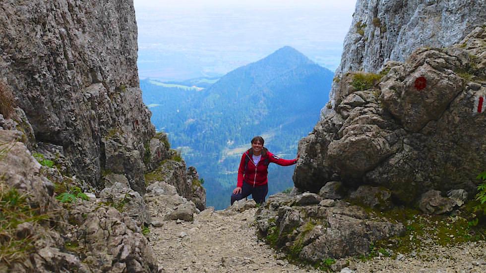 Kampenwand Ostgipfel Wanderung