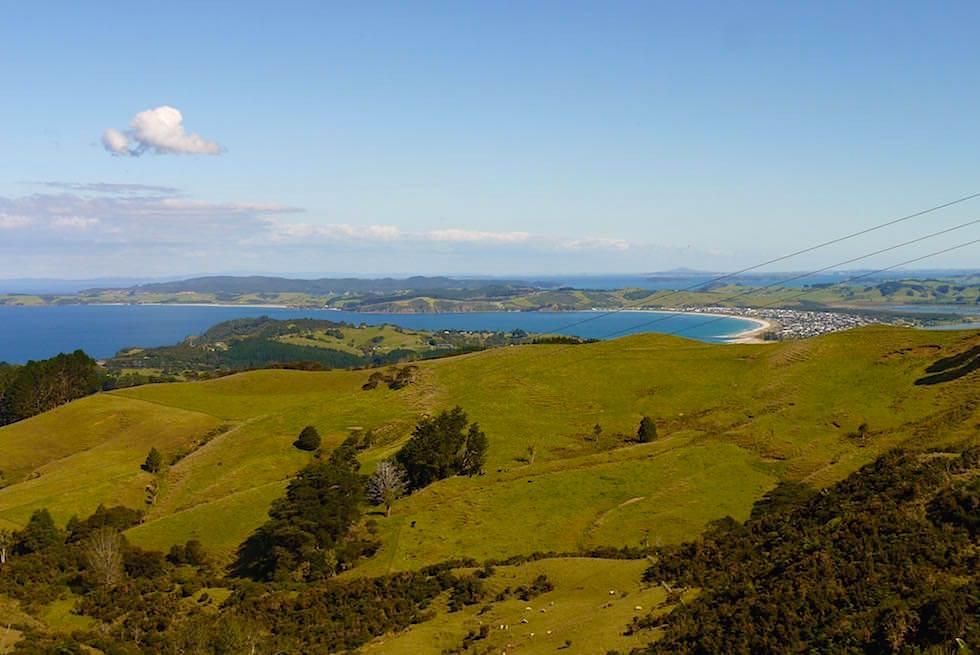Hügellandschaft bei Leigh - Auckland Neuseeland