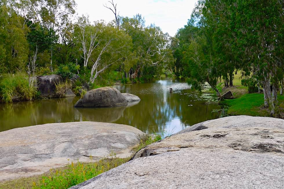Granite Gorge Nature Park - Badesee - Queensland