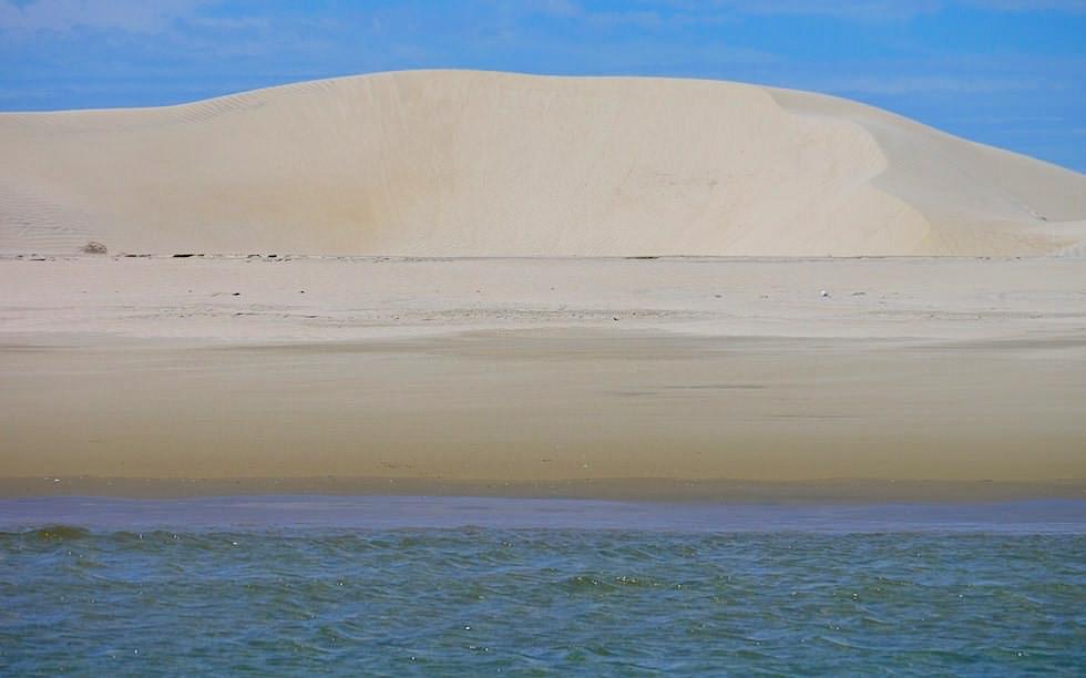 Isla Magdalena Baja California Sand dunes