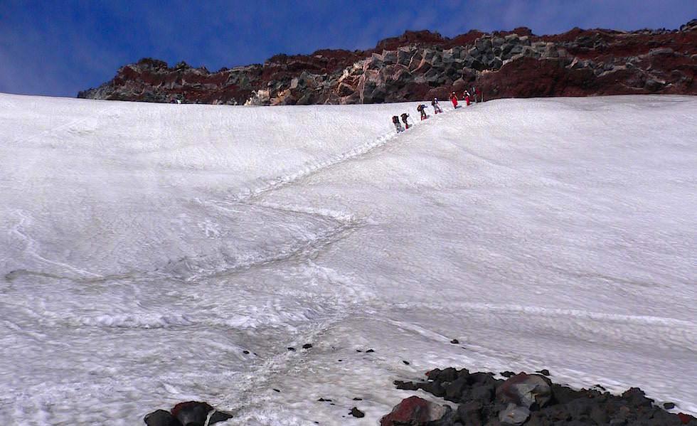 Chile - Vulkan Besteigung