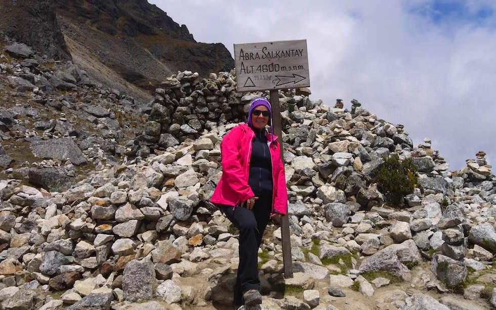 Peru Salkantay Track - Summit