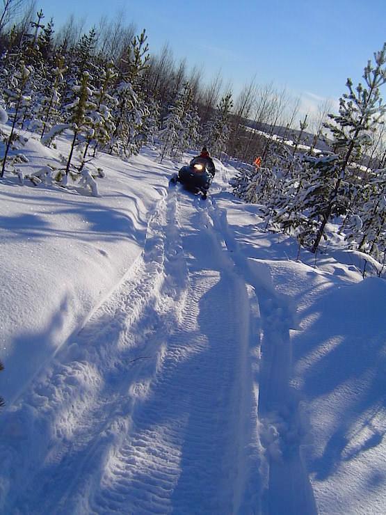 Scooter fahren Lappland