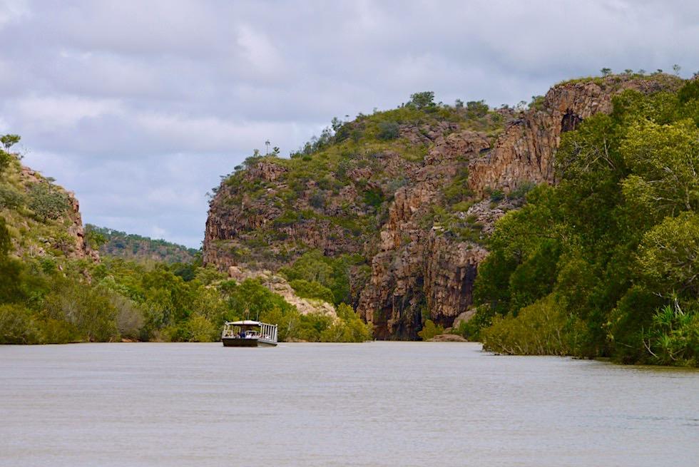 Bootstour Katherine Gorge - 1. der 13 zusammenhängenden Schluchten - Nitmiluk NP - Northern Territory