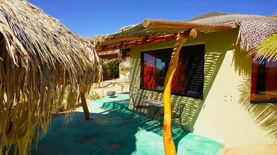 Cabo Pulmo - Kleine Hütten im Beach Resort - Cabo Pulmo - Grandioser Fisch-Artenreichtum - Cortez Sea - Baja California