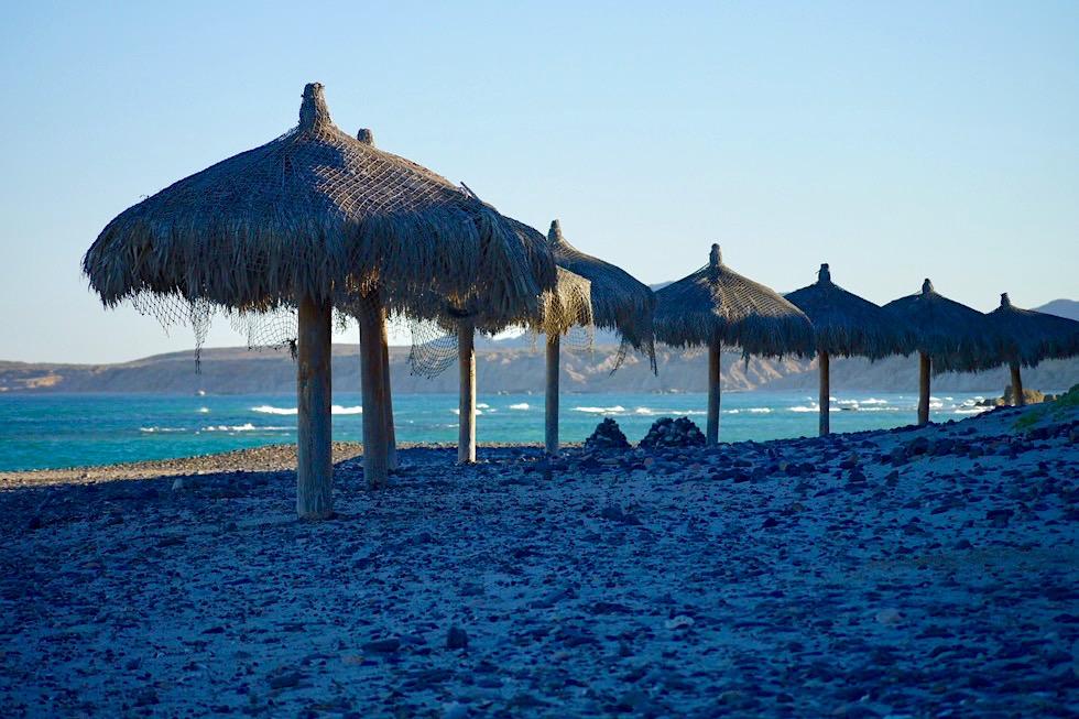 Cabo Pulmo - Nicht der schönste Strand, aber einsam - Sea of Cortez - Baja California