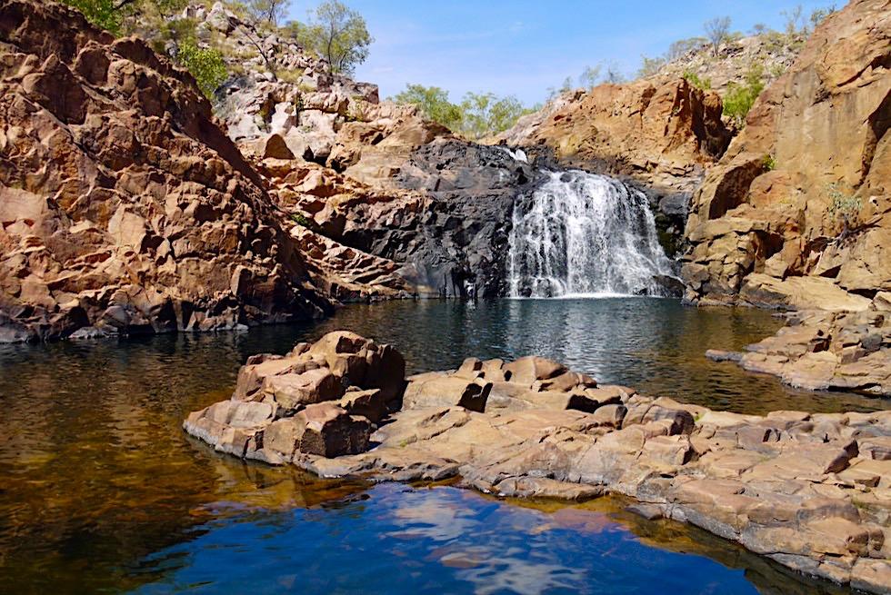 Zauberschöne, herrlich erfrischende Edith Falls - Nitmiluk National Park - Northern Territory
