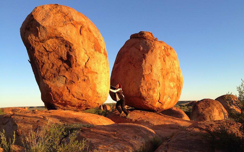 Rolling Stones Devil Marbles Center Australia Northern Territory