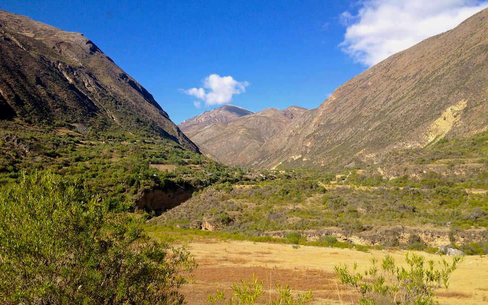 Huancayo Huancavelica mit Zug El Tren Macho