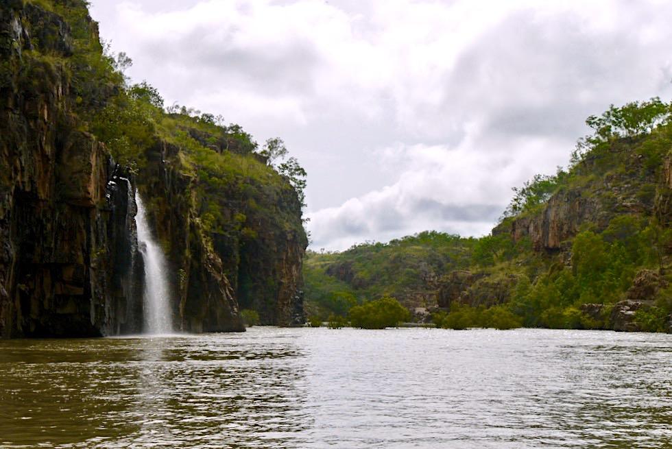 Katherine Gorge - 2. Schlucht steckt voller Wasserfälle - Nitmiluk National Park - Northern Territory