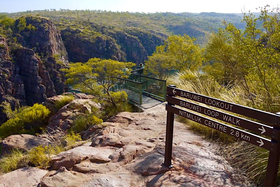 Katherine Gorge - Baruwei Lookout Wanderung - Nitmiluk National Park - Northern Territory