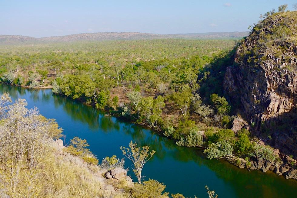 Faszinierender Ausblick auf Katherine Gorge & Kathrine River - Nitmiluk National Park - Northern Territory