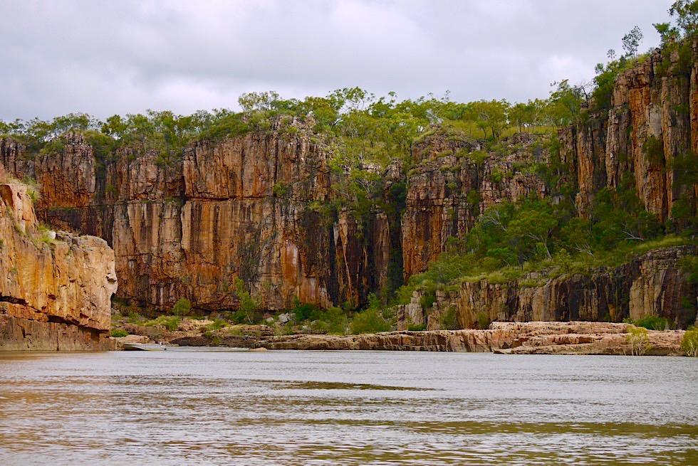 Katherine Gorge - Übergang zwischen 1. und 2. Schlucht - Nitmiluk NP - Northern Territory
