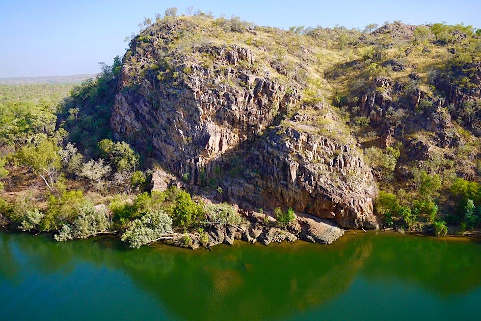 Katherine Gorge Wanderung - Baruwei Loop Walk: Ausblick Felsen - Nitmiluk NP - Northern Territory