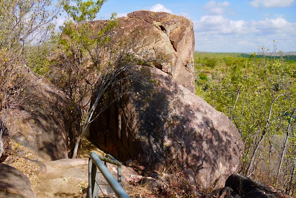 Katherine Gorge Wanderung - Pfad zum Baruwei Lookout - Nitmiluk National Park - Northern Territory