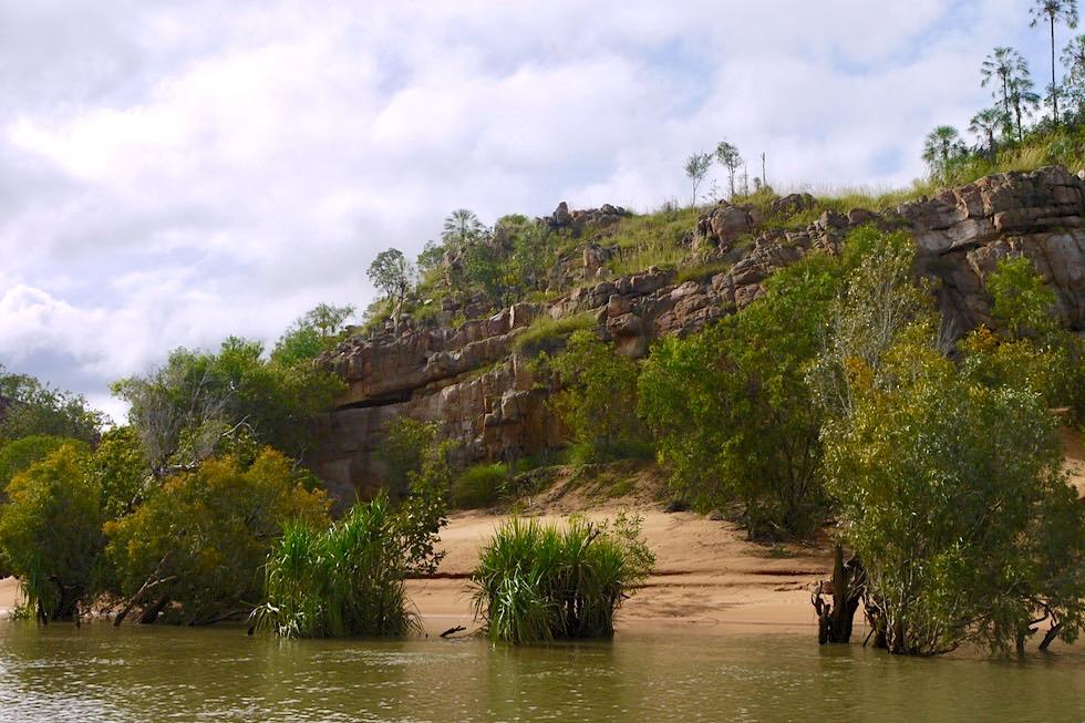 Katherine Gorge & Katherine River zur Regenzeit - Nitmiluk National Park - Northern Territory