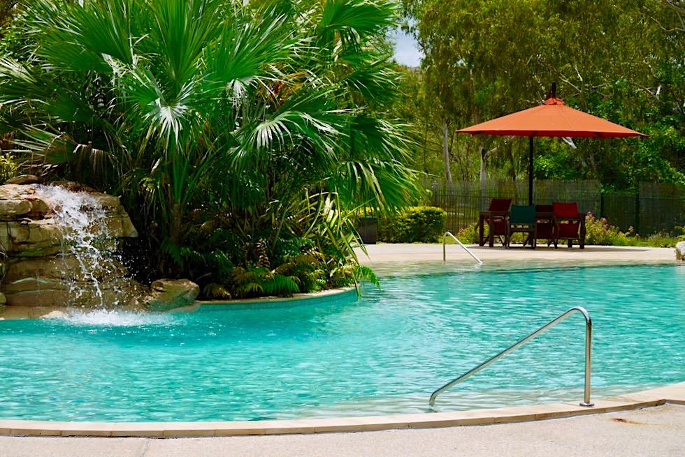 Nitmiluk Caravan Park - Wunderschöner Poolbereich - Northern Territory