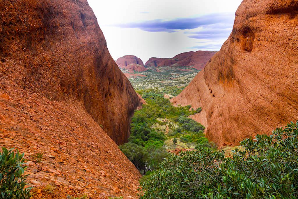 Olgas / Kata Tjuta - Schönste Wanderung im Uluru Nationalpark - Northern Territory
