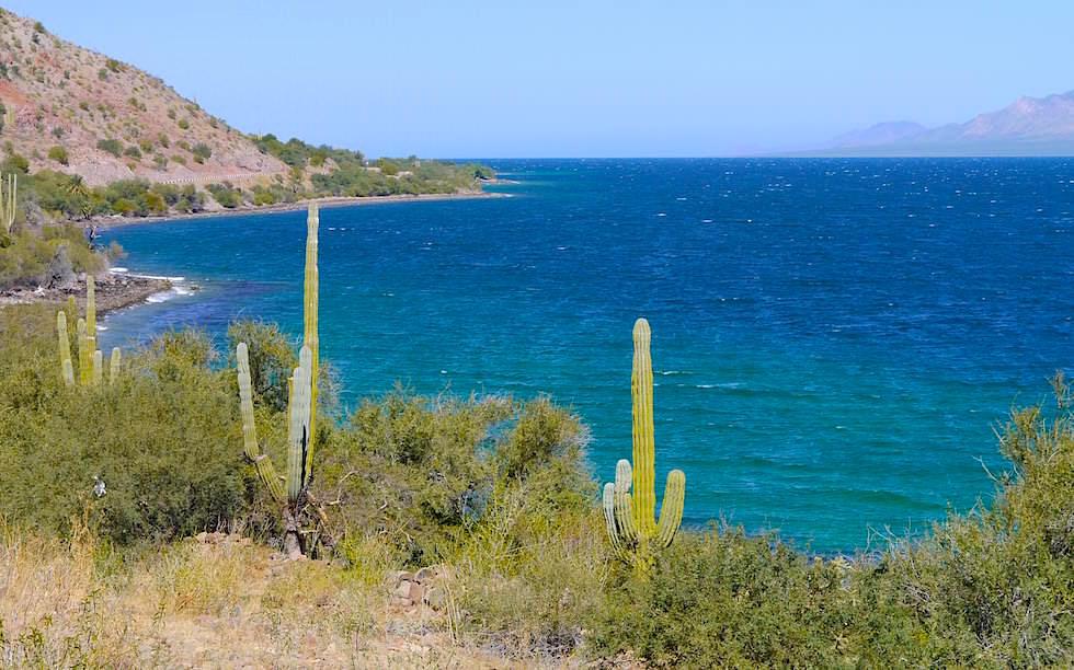 View on Bahia Concepcion Baja California