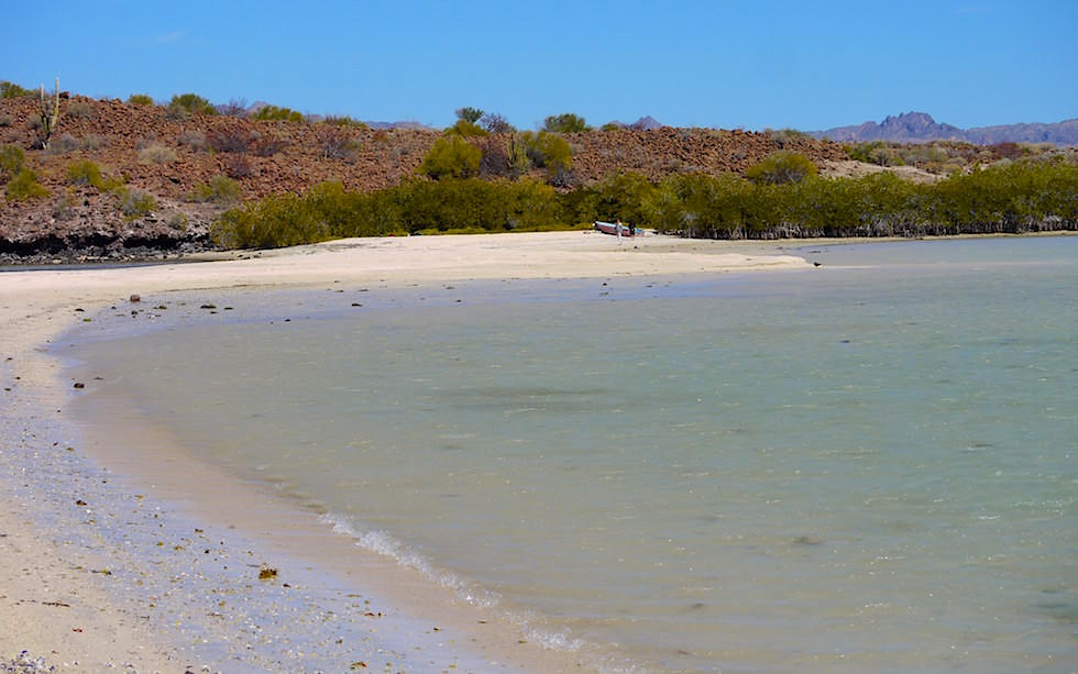Beaches at Bahia Concepcion Baja California