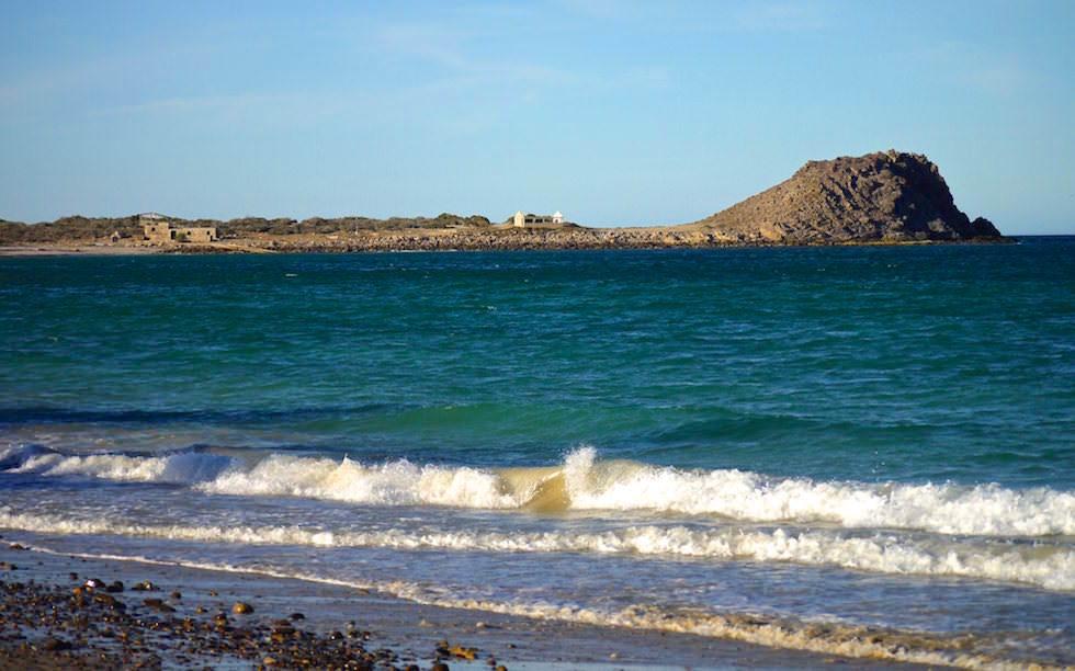 Cabo Pulmo - Blick vom Beach Resort & Strand aufs Meer - Baja California