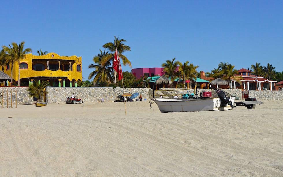 Strandhäuser in Los Barriles im Süden von La Paz Baja California - Mexiko