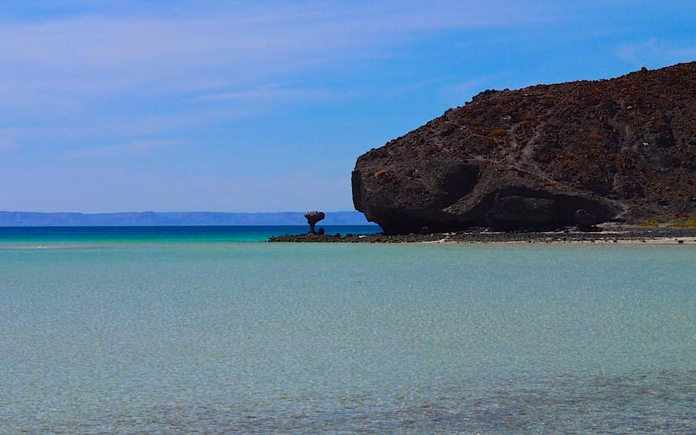 Punta Balandra - Traumbucht mit faszinierenden Felsformationen bei La Paz Baja California - Mexiko