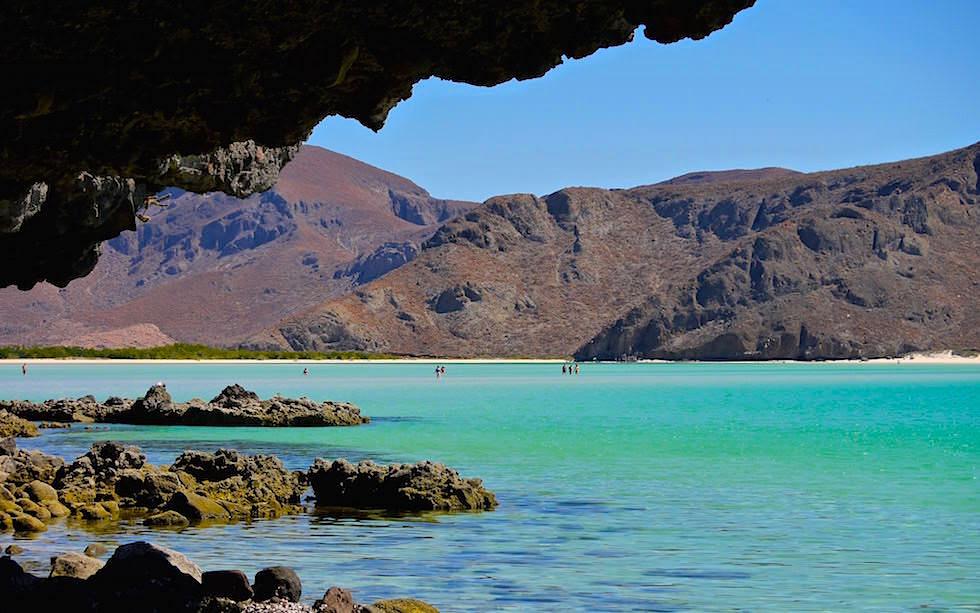 Punta Balandra - Eine Traumbucht mit grandiosen Felsformationen bei La Paz Baja California - Mexiko