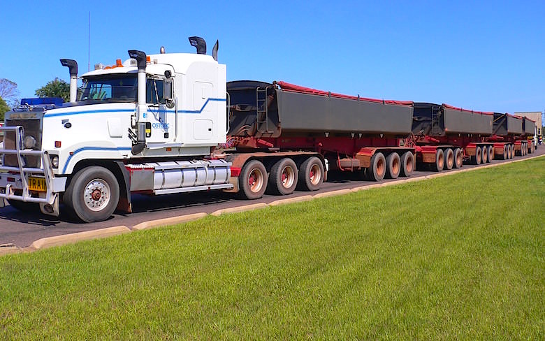 Road Train Northern Territory Australia