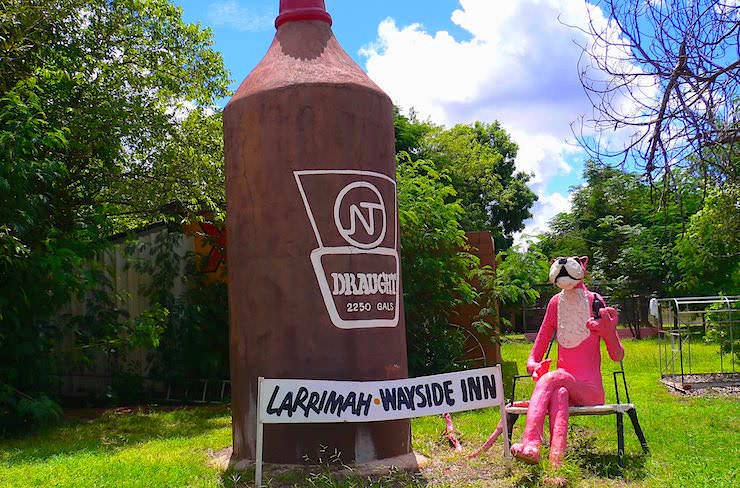 Larrimah - Wayside Inn Roadhouse Northern Territory