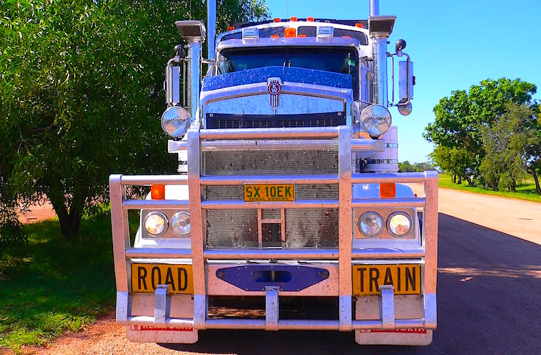 Monster-Truck Road Train Northern Territory Australia