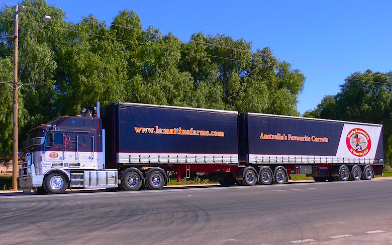 Double Road Train Northern Territory Australia