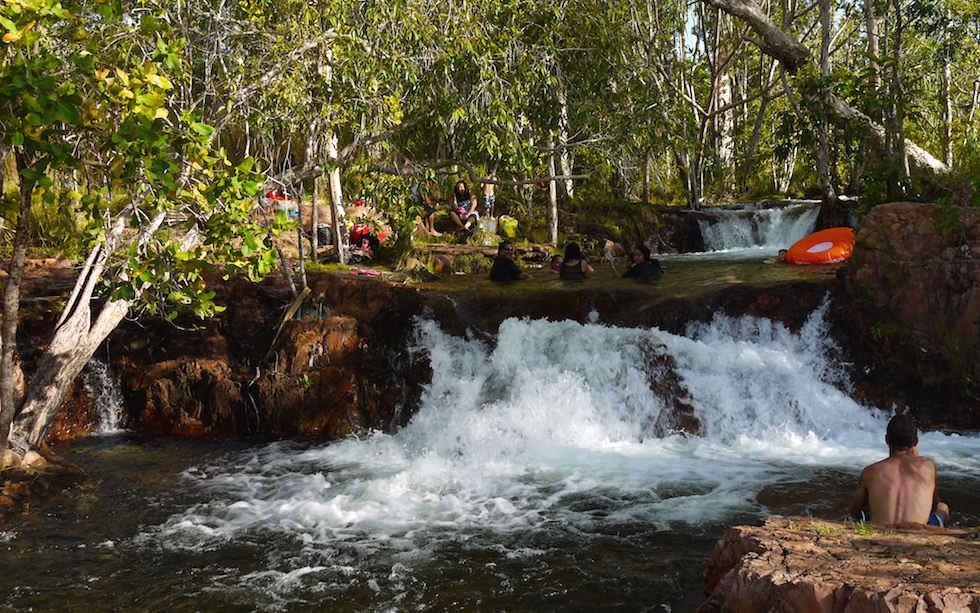 Litchfield National Park: Buley Rockhole ist sehr beliebt bei den Einheimischen - Northern Territory