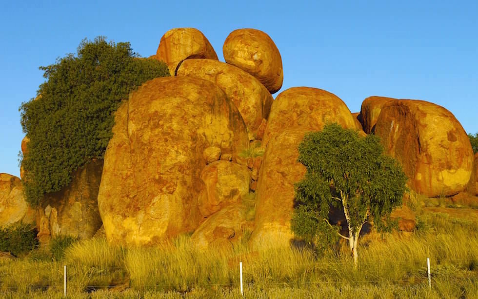 Devil Marbles Center Australia Northern Territory