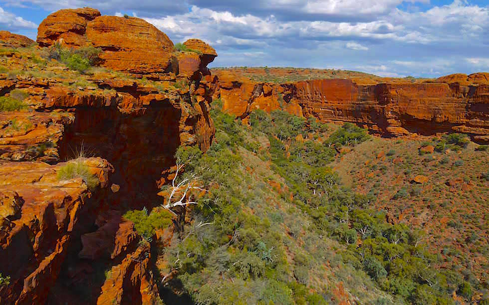 Aufstieg Kings Canyon Grand Canyon Australien - Northern Territory