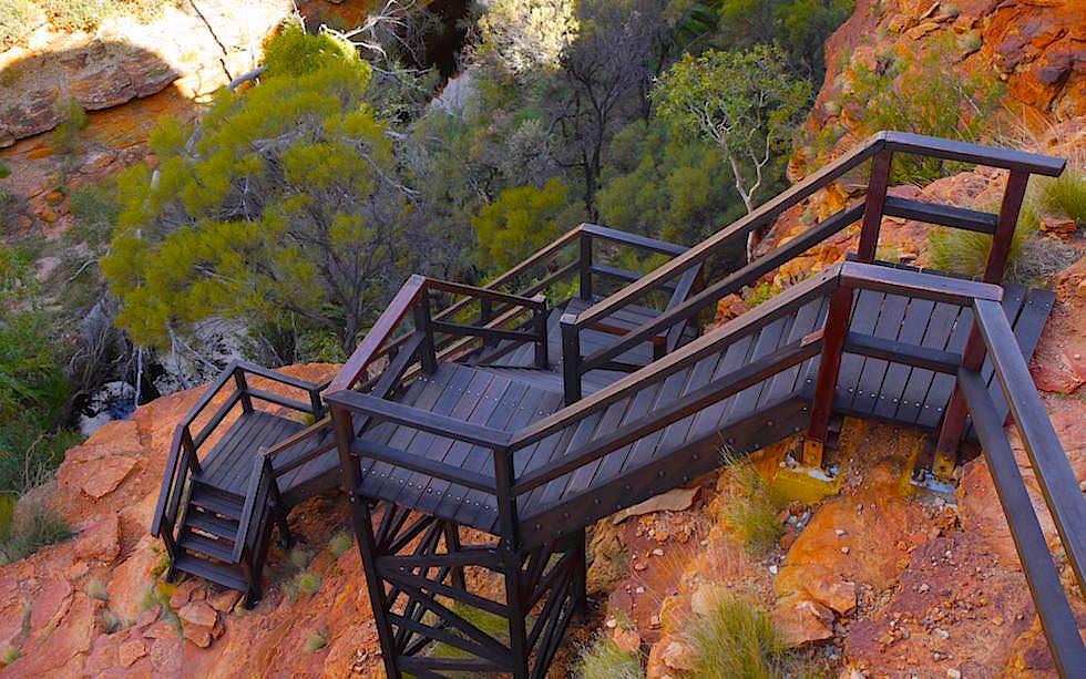 Garden Eden Kings Canyon Grand Canyon Australien - Northern Territory