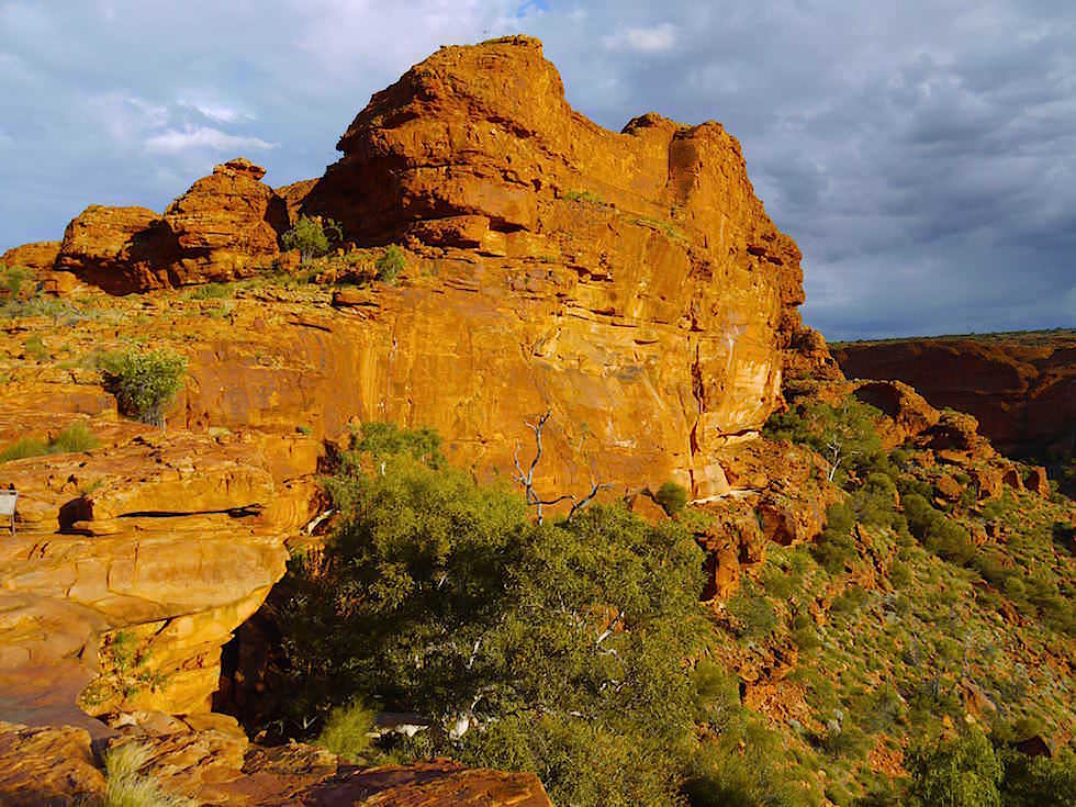 Beim Abstieg Kings Canyon Grand Canyon Australien - Northern Territory